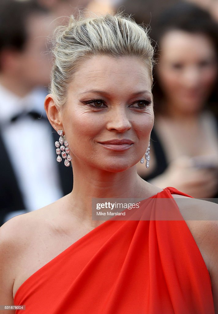 <a gi-track='captionPersonalityLinkClicked' href=/galleries/search?phrase=Kate+Moss&family=editorial&specificpeople=201830 ng-click='$event.stopPropagation()'>Kate Moss</a> attends the 'Loving' premiere during the 69th annual Cannes Film Festival at the Palais des Festivals on May 16, 2016 in Cannes, France.
