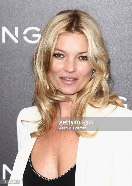 Kate Moss attends the Mango new collection launch at Centre Pompidou on May 17 2011 in Paris France