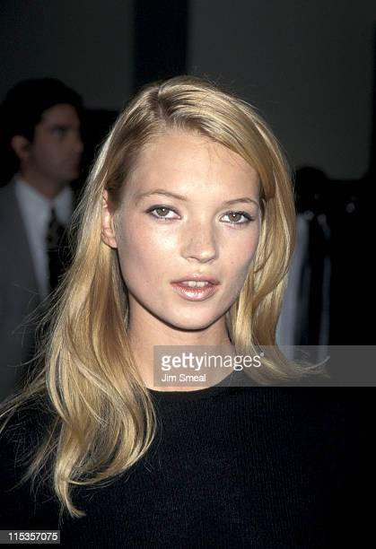 Kate Moss during Kate Moss Calvin Klein Boutique Personal Appearance at Saks Fifth Avenue Store in Beverly Hills California United States