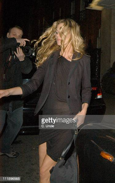 Kate Moss during Kate Moss Sighting at The Dorchester Hotel March 23 2005 at The Dorchester Hotel in London Great Britain
