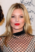 Kate Moss in the press room at the British Fashion Awards at The Savoy Hotel on November 28 2011 in London England