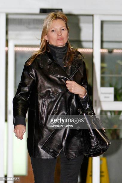 Kate Moss is seen on February 07 2013 in London United Kingdom