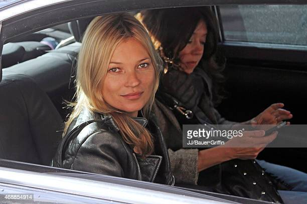 Kate Moss is seen on October 05 2012 in London United Kingdom