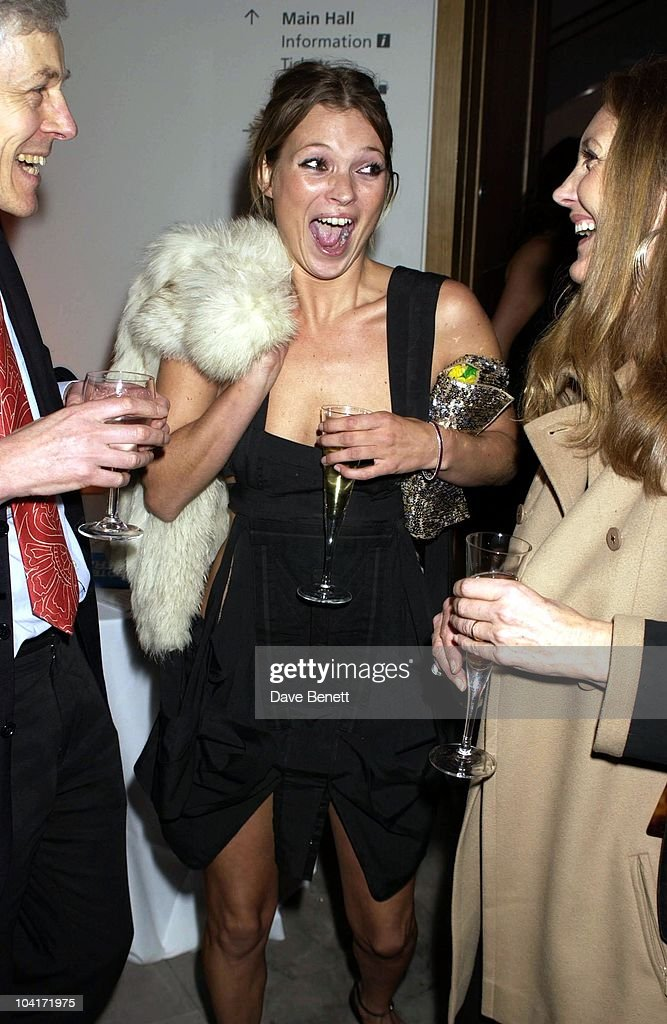 Kate Moss Laughing With Her Mum, Fashion Photographer Mario Testino Attracted All The Most Glamorous Women In London To His Exhibition At The National Portrait Gallery.