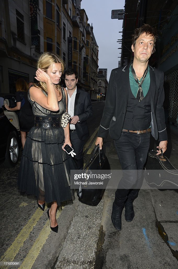 <a gi-track='captionPersonalityLinkClicked' href=/galleries/search?phrase=Kate+Moss&family=editorial&specificpeople=201830 ng-click='$event.stopPropagation()'>Kate Moss</a> leaving Cafe De Paris on June 20, 2013 in London, England.