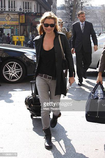 Kate Moss sighted In Paris on March 23 2011 in Paris France
