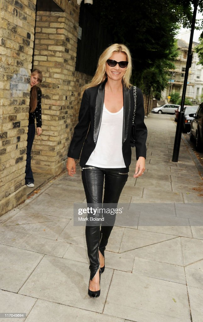 Kate Moss sighted wearing Vogue Eyewear on June 20 2011 in London England