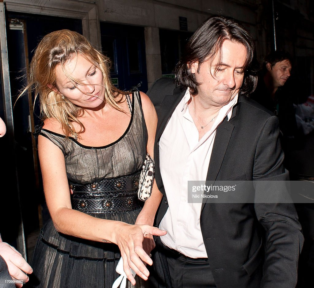 Kate Moss sighting leaving Cafe de Paris on June 20, 2013 in London, England.