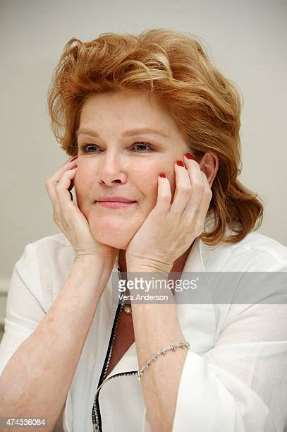 Kate Mulgrew at the 'Orange Is The New Black' Press Conference at the Four Seasons Hotel on May 20 2015 in Beverly Hills California