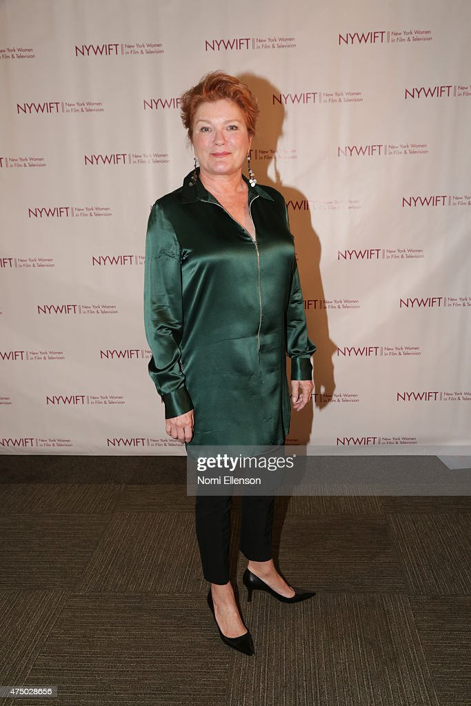 Kate Mulgrew attends the 2015 New York Women in Film & Television Designing Women Awards Gala at Scholastic Auditorium on May 28, 2015 in New York City.
