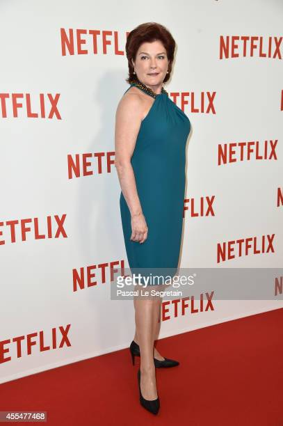 Kate Mulgrew attends the 'Netflix' Launch Party at Le Faust on September 15 2014 in Paris France