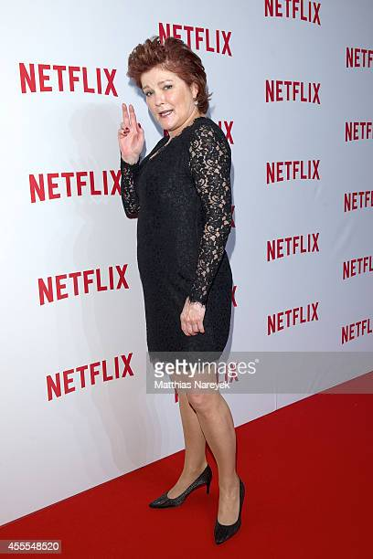Kate Mulgrew attends the Netflix pre launch party at Komische Oper on September 16 2014 in Berlin Germany