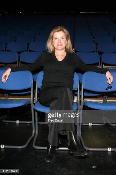 Kate Mulgrew during 'The Exonerated' Cast Change April 18 2006 at Riverside Studios in London Great Britain
