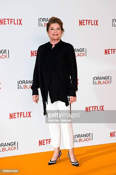 Kate Mulgrew during the 'Orange is the New Black' Europe Premiere at Kino in der Kulturbrauerei on June 7 2016 in Berlin Germany