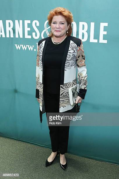 Kate Mulgrew promotes her new book 'Born With Teeth' at Barnes Noble Union Square on April 15 2015 in New York City