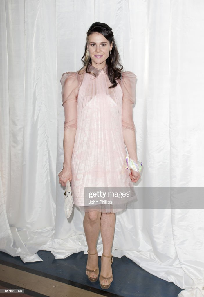 Kate Nash Attending The Catwalk At The Pam Hogg Fashion Show, Held At The Vauxhall Fashion Scout Venue In Freemasons' Hall, As Part Of London Fashion Week.