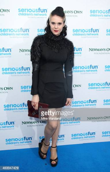Kate Nash attends the SeriousFun London Gala 2013 at The Roundhouse on December 3 2013 in London EnglandThe Serious Fun Children's Network is a...
