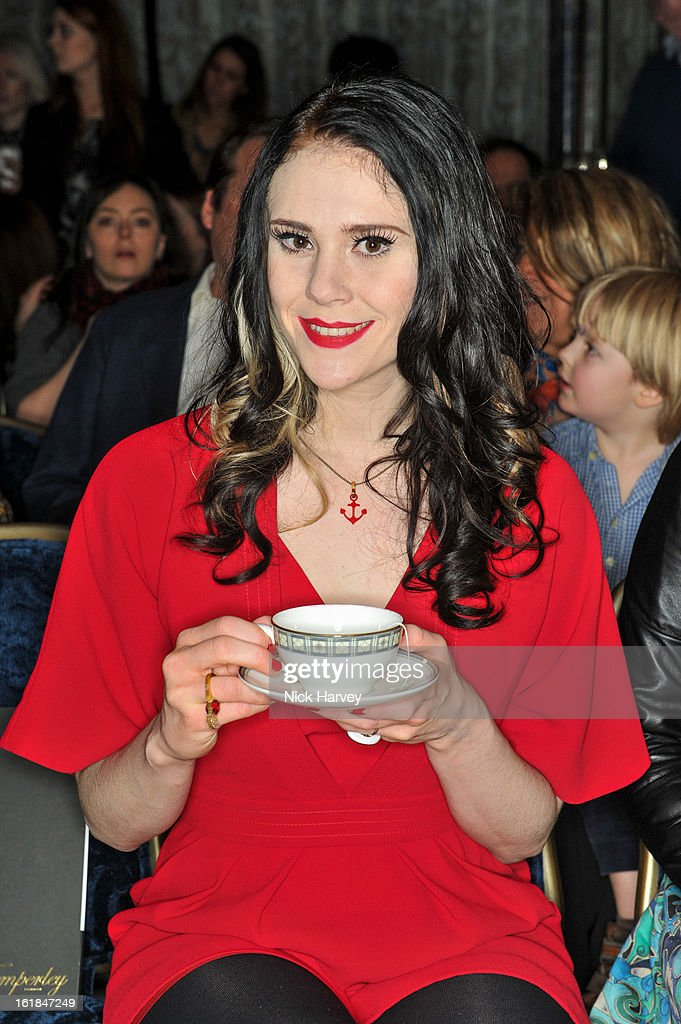 <a gi-track='captionPersonalityLinkClicked' href=/galleries/search?phrase=Kate+Nash&family=editorial&specificpeople=4337182 ng-click='$event.stopPropagation()'>Kate Nash</a> attends the Temperley London show during London Fashion Week Fall/Winter 2013/14 at the Dorchester Hotel on February 17, 2013 in London, England.