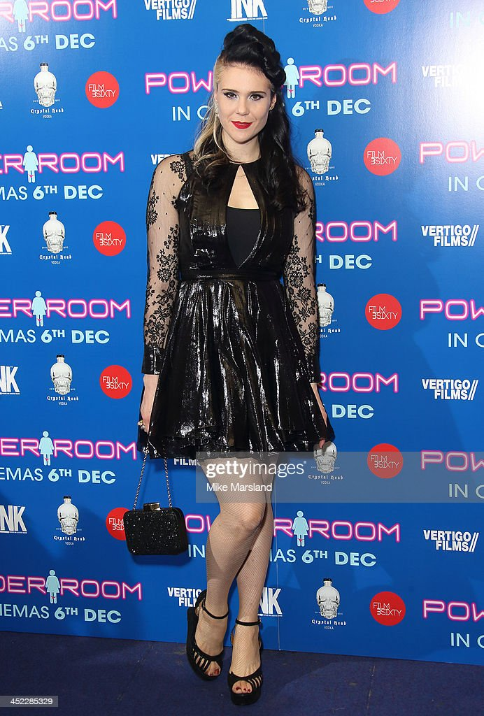 Kate Nash attends the UK Premiere of 'Powder Room' at Cineworld Haymarket on November 27 2013 in London England