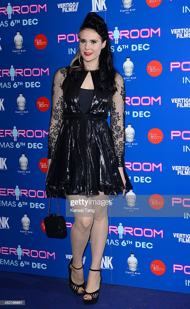 Kate Nash attends the UK Premiere of 'Powder Room' at Cineworld Haymarket on November 27, 2013 in London, England.