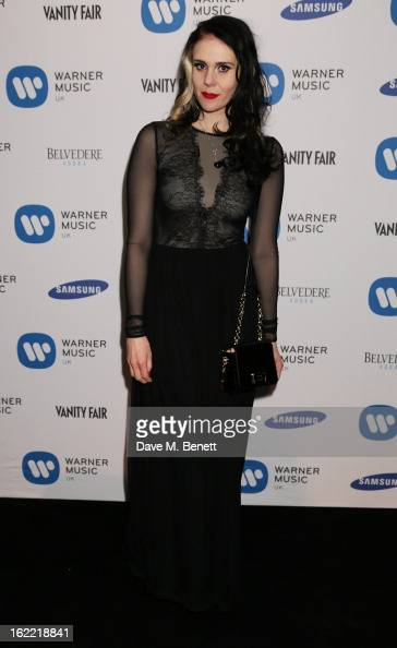 Kate Nash attends the Warner Music Group Post BRIT Party In Association With Samsung at The Savoy Hotel on February 20 2013 in London England