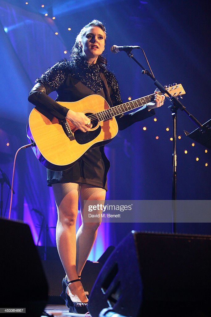 <a gi-track='captionPersonalityLinkClicked' href=/galleries/search?phrase=Kate+Nash&family=editorial&specificpeople=4337182 ng-click='$event.stopPropagation()'>Kate Nash</a> performs at the SeriousFun London Gala 2013, benefiting a growing community of camps and programs serving children with serious illnesses and their families and established by Paul Newman in 1988, at The Roundhouse on December 3, 2013 in London, England.