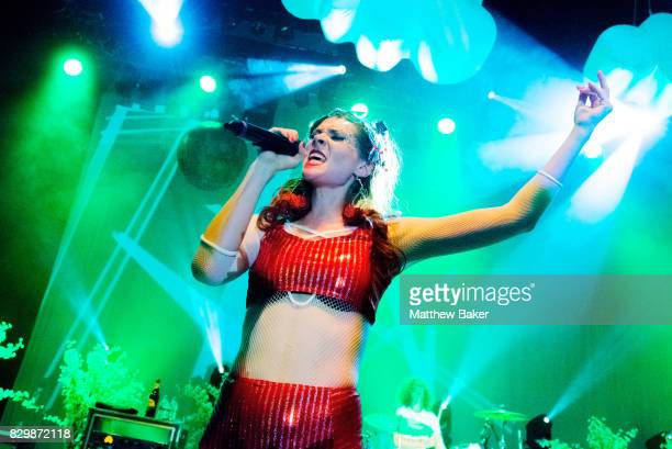 Kate Nash performs live on stage at O2 Shepherd's Bush Empire on August 10 2017 in London England