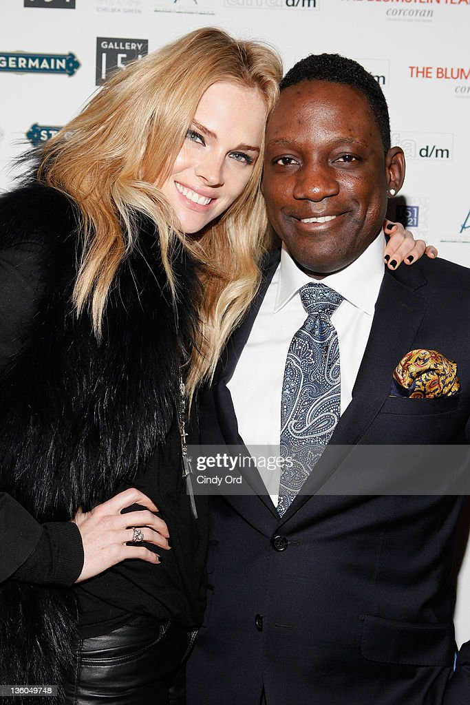 Kate Nauta and Mike Jean attend the 2011 Hope for Them Foundation Holiday Toy drive at Gallery 151 on December 17, 2011 in New York City.