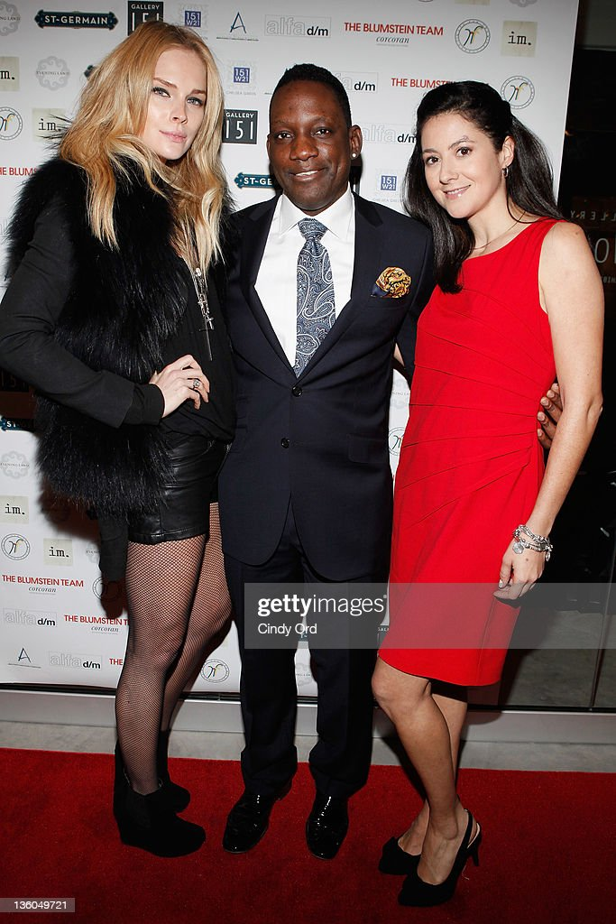 Kate Nauta, Mike Jean, and Ines Ferre attend the 2011 Hope for Them Foundation Holiday Toy drive at Gallery 151 on December 17, 2011 in New York City.