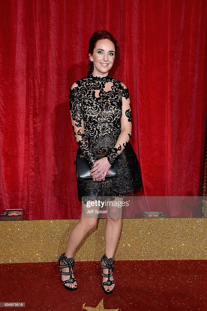 Kate Oates attends the British Soap Awards 2016 at Hackney Empire on May 28, 2016 in London, England.