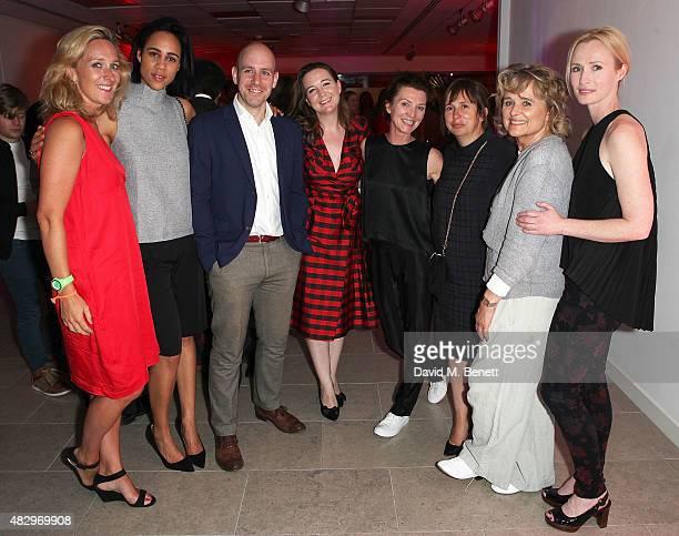 Kate Pakenham Zawe Ashton Robert Hastie Josie Rourke Michelle Fairley Sinead Cusack Abi Morgan and Genevieve O'Reilly attend the after party...
