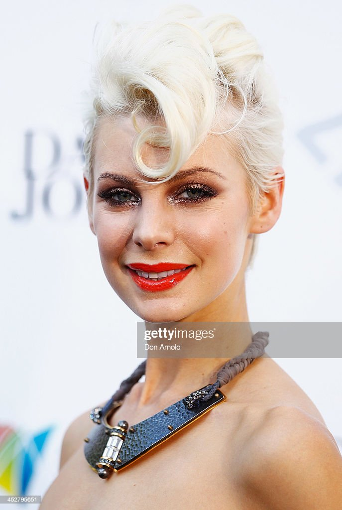 Kate Peck arrives at the 27th Annual ARIA Awards 2013 at the Star on December 1, 2013 in Sydney, Australia.