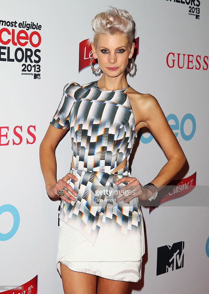 Kate Peck arrives at the CLEO Bachelor of the Year Awards at the Beresford Hotel on June 12, 2013 in Sydney, Australia.