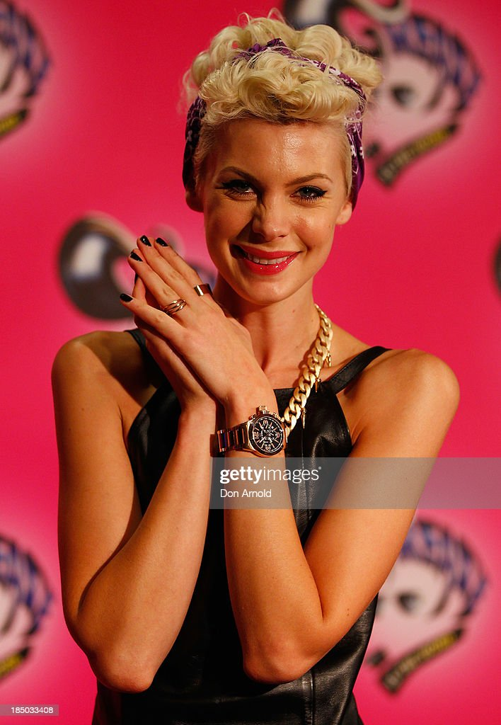 Kate Peck arrives at the Sydney Premiere of GREASE at The Star on October 17, 2013 in Sydney, Australia.