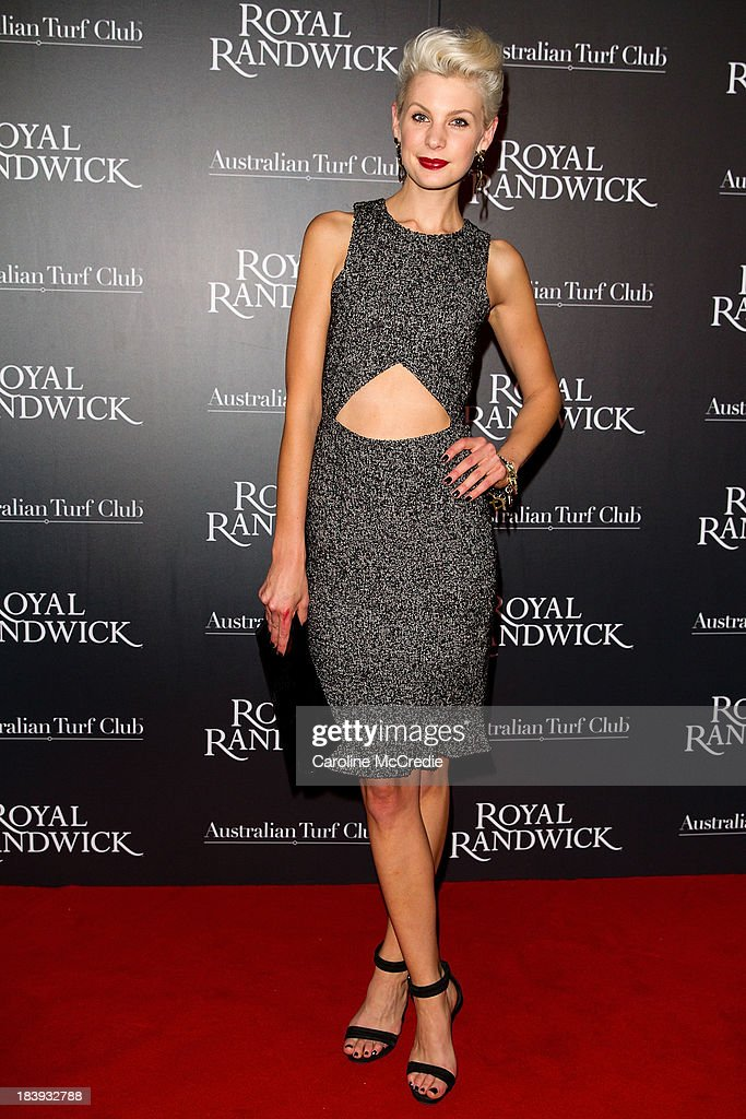 Kate Peck attends the Gala Launch event to celebrate the new Australian Turf on October 10, 2013 in Sydney, Australia.