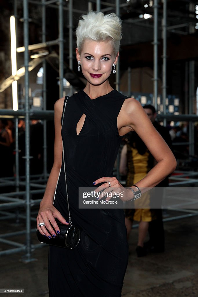 Kate Peck poses during the 12th ASTRA Awards at Carriageworks on March 20, 2014 in Sydney, Australia.