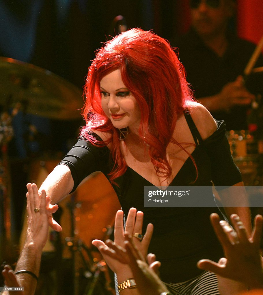 Kate Pierson of The B-52's performs at The Fillmore on July 15, 2013 in San Francisco, California.