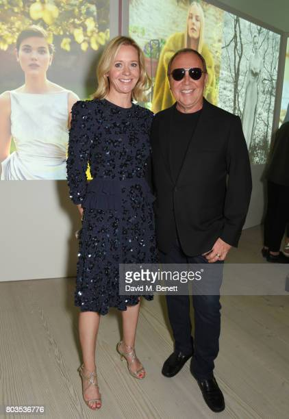Kate Reardon and Michael Kors attend Tatler's English Roses 2017 in association with Michael Kors at the Saatchi Gallery on June 29 2017 in London...