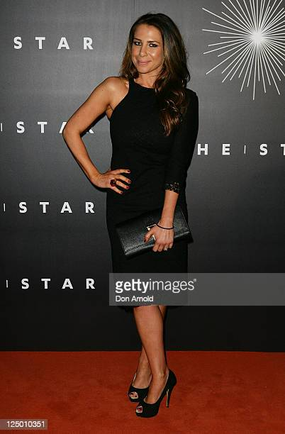 Kate Ritchie arrives at the opening of 'The Star' formerly Star City in Pyrmont on September 15 2011 in Sydney Australia The entertainment venue...