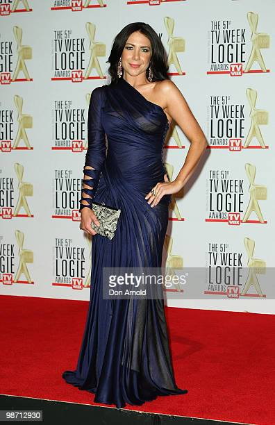 Kate Ritchie arrives for the 51st TV Week Logie Awards at the Crown Towers Hotel and Casino on May 3 2009 in Melbourne Australia