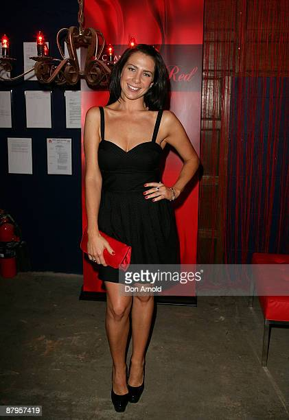 Kate Ritchie attends the Chandon Supper Club after party at The Club in Kings Cross on May 21 2009 in Sydney Australia