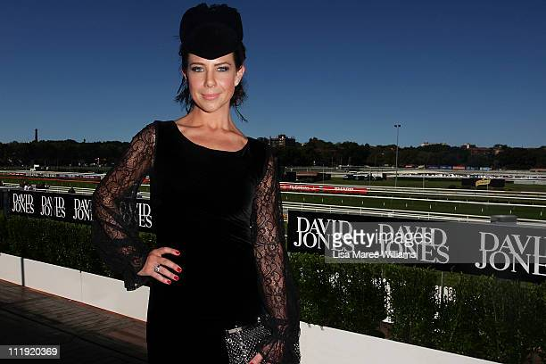 Kate Ritchie attends the David Jones marquee during AJC Australian Derby Day at Royal Randwick Racecourse on April 9 2011 in Sydney Australia