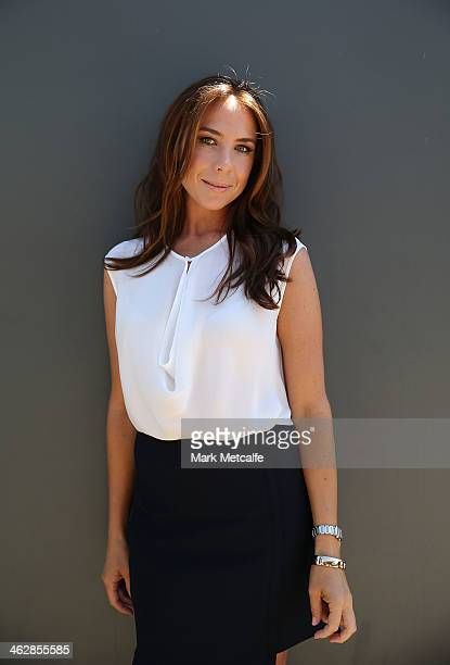 Kate Ritchie poses at the launch of the 2014 Australia Day program on January 16 2014 in Sydney Australia