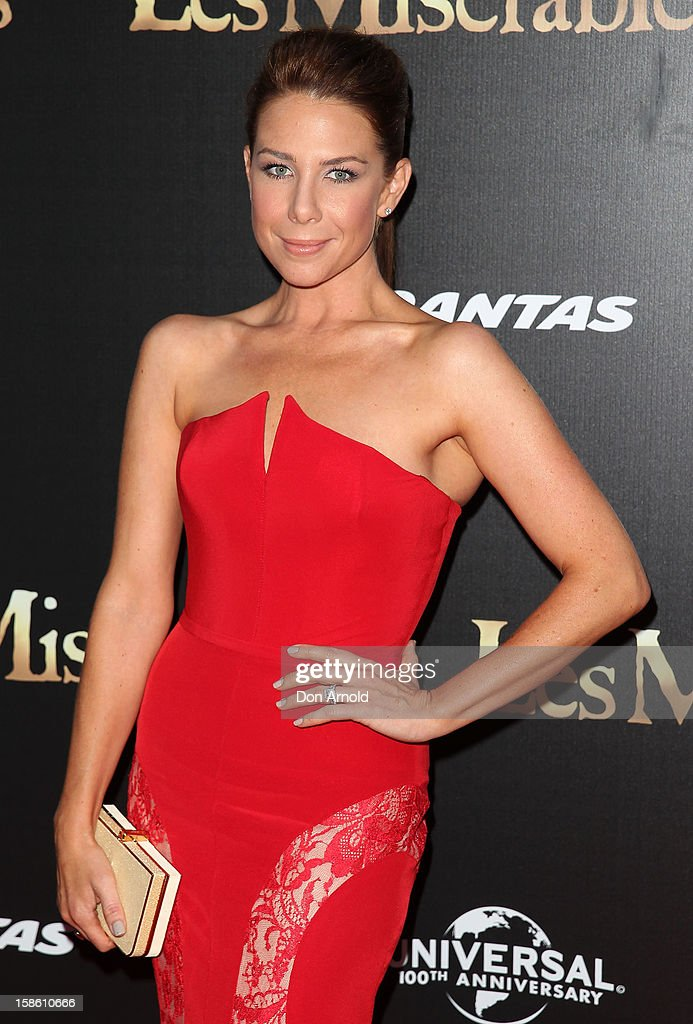 Kate Ritchie poses during the Australian premiere of 'Les Miserables' at the State Theatre on December 21, 2012 in Sydney, Australia.