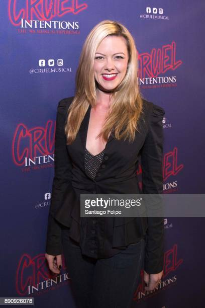Kate Rockwell attends 'Cruel Intentions' The 90's Musical Experience at Le Poisson Rouge on December 11 2017 in New York City
