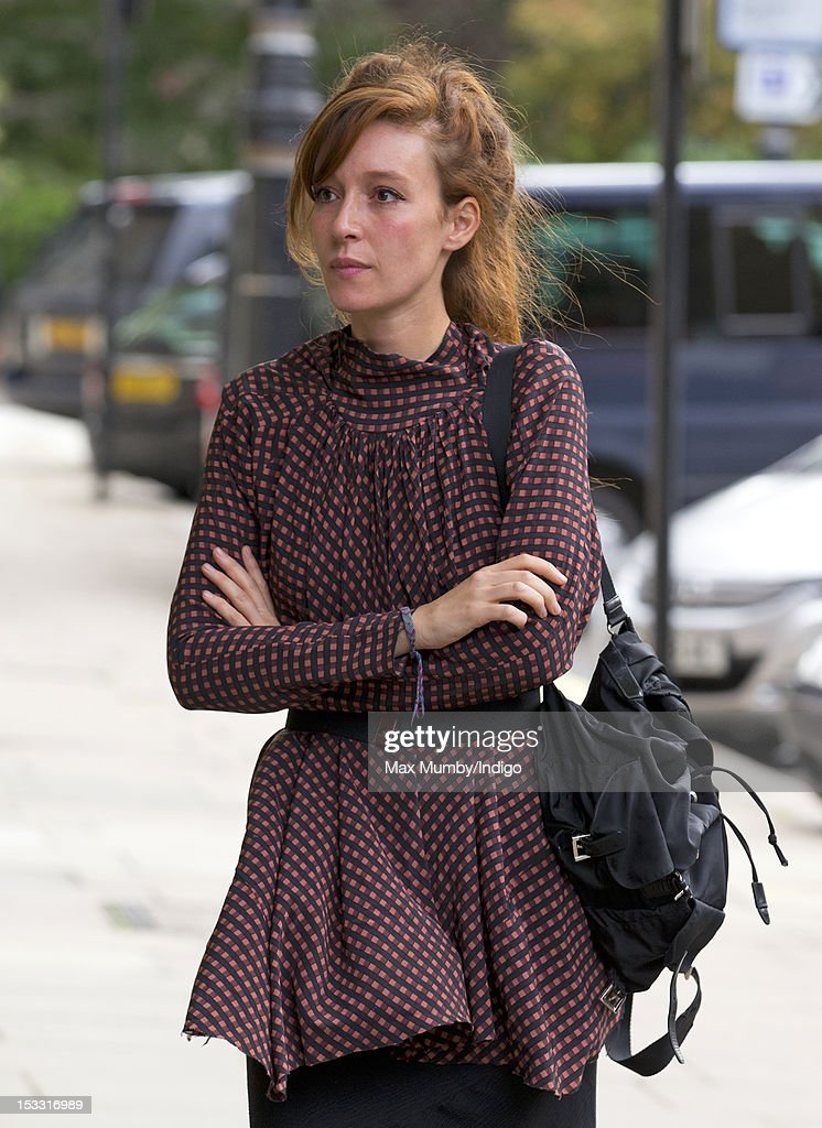 Kate Rothschild attends a memorial service for Alistair Vane-Tempest-Stewart, 9th Marquess of Londonderry at St Paul's Church, Knightsbridge on October 3, 2012 in London, England.