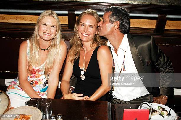 Kate Schelter Valesca GuerrandHermes and Carlos Souza attend Private Dinner hosted by CARLOS JEREISSATI CEO of IGUATEMI at Pastis on September 6 2008...