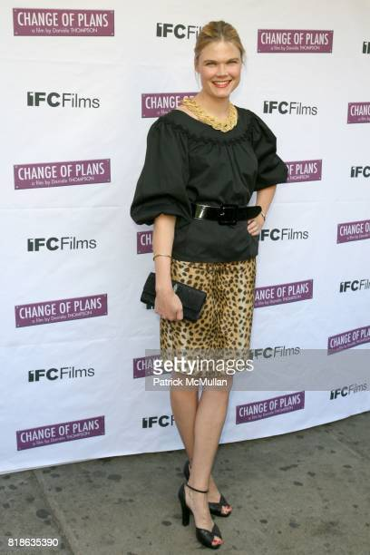 Kate Shelter attends The New York Premiere of 'CHANGE OF PLANS' at IFC Center on June 8 2010 in New York City