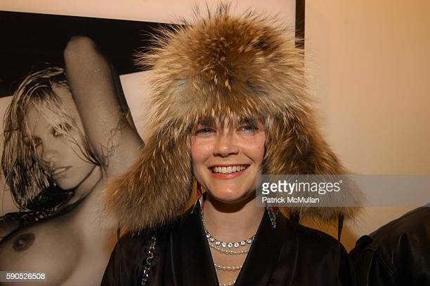 Kate Shelter attends The Opening of 'Pam American Icon' Photographs by Sante D'Orazio at Stellan Holm Gallery on January 21 2005 in New York City