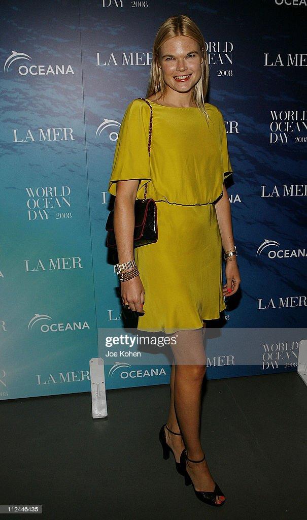 Kate Shelton attends the 2008 World Ocean Day hosted by La Mer and Oceana on June 4 2008 at Rockefeller Center in New York